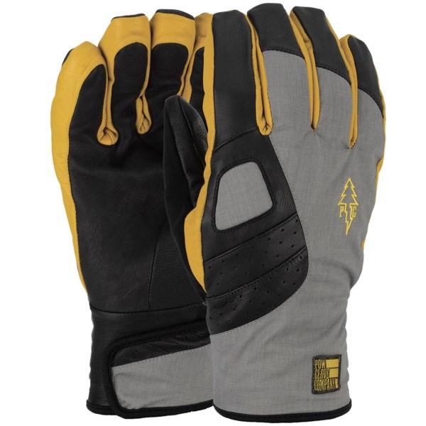 Pow Vandal Goatskin Gloves - Waterproof, Insulated (for Men)