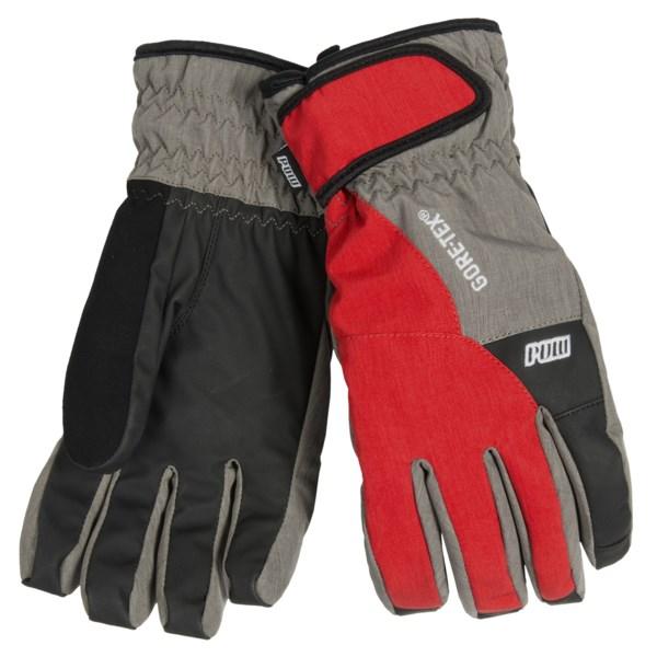 Pow Warner Gore-Tex(R) Short Gloves - Waterproof, Insulated (For Men)