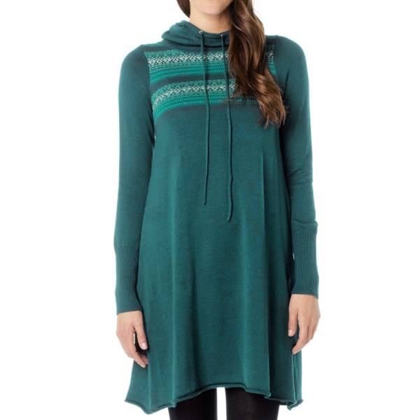prAna Coco Hoodie Dress - Long Sleeve (For Women)
