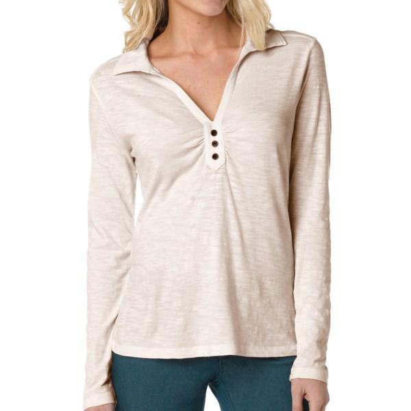 prAna Sulia Shirt - Organic Cotton Slub, Long Sleeve (For Women)