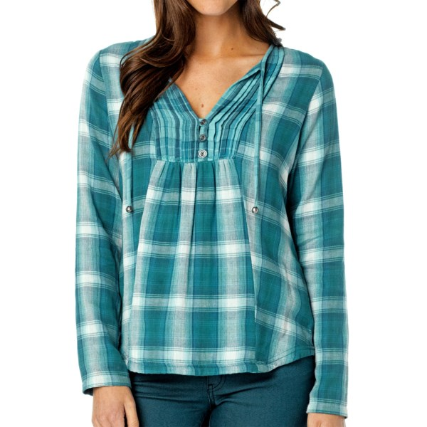 prAna Francine Shirt - Organic Cotton, Long Sleeve (For Women)