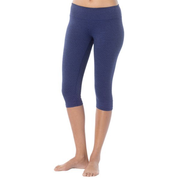 CLOSEOUTS . Cropped, jacquard-knit stunners to perform from intense hot yoga session to stroll around the park, prAnaand#39;s Misty capris have it all: style, stretch, comfort, versatility... marry us, Misty. We love you. Available Colors: BLUE TWILIGHT DIAMOND, PINKBERRY DIAMOND. Sizes: XS, S, M, L, XL.
