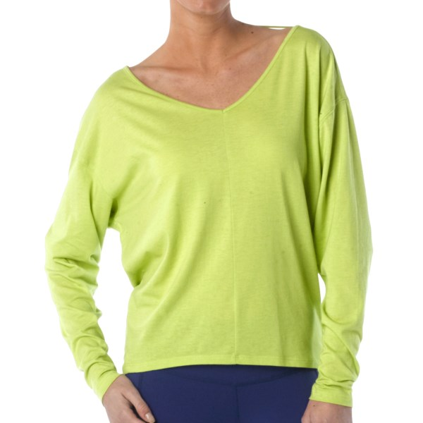 prAna Bianca Shirt - V-Neck, Long Sleeve (For Women)