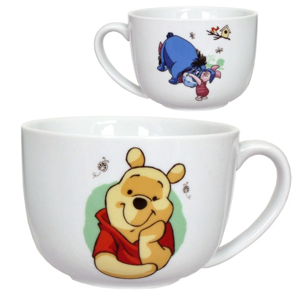 Overstock . Cold days call for filling up this Disney Character Print soup/chili mug with a piping-hot serving of your homemade chili or noodle soup. Yum! Available Colors: POOH, CARS.