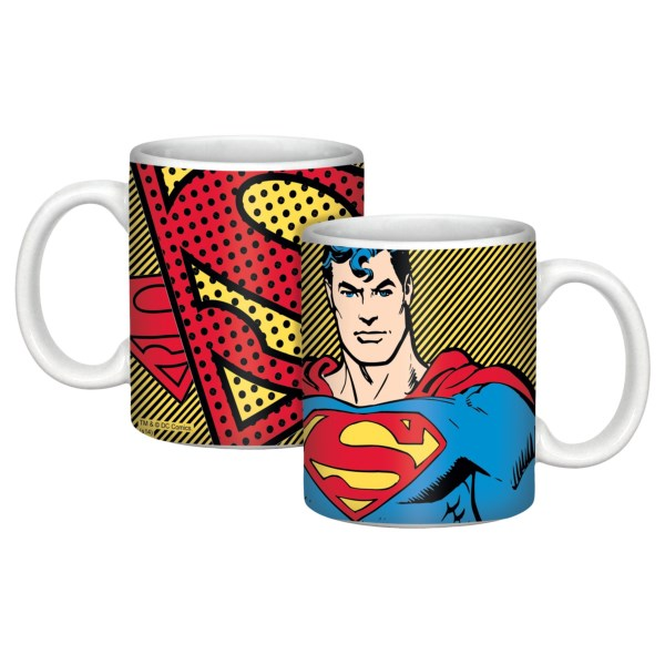 Warner Brothers Super Hero Soup/chili Mug - 12 Oz.