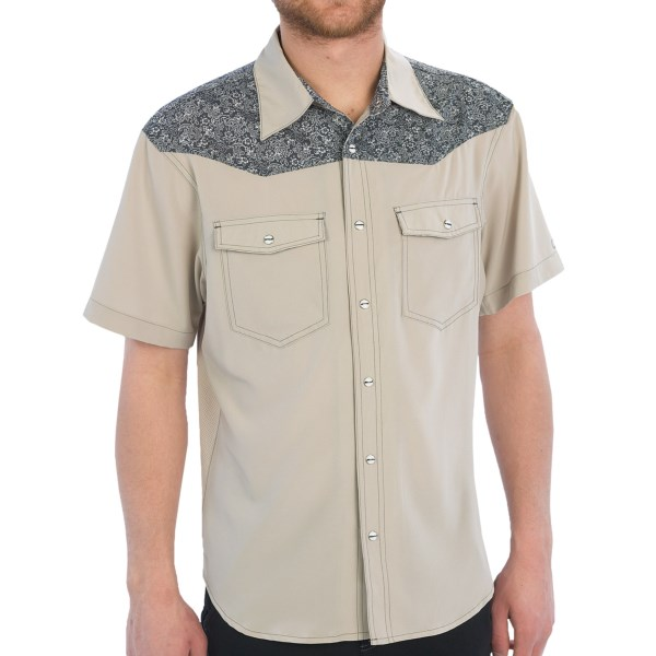 Club Ride Pure West Jersey Shirt - UPF 30 , Button Front, Short Sleeve (For Men)