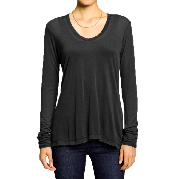 Nau Illume Shirt - V-Neck, Long Sleeve (For Women)