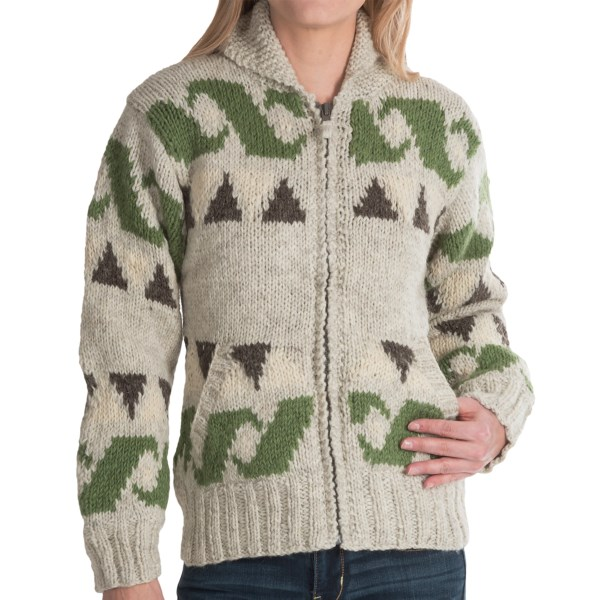 Laundromat Freedom Sweater - Wool, Fleece Lining (For Women)