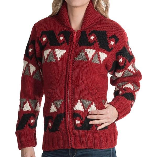 Laundromat Freedom Sweater - Wool, Fleece Lining (for Women)