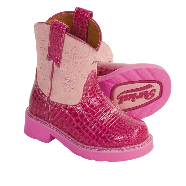 ariat fatbaby boots  for kids