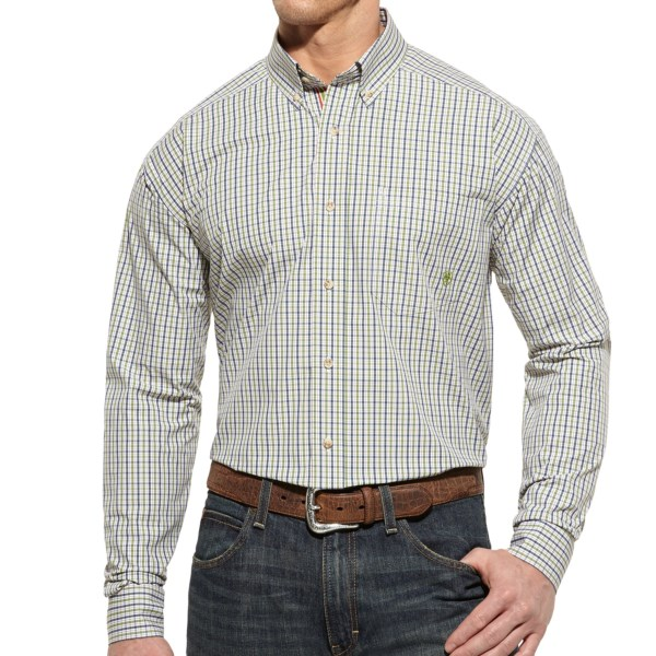 Ariat Sean Plaid High-Performance Shirt - Button Front, Long Sleeve (For Men)