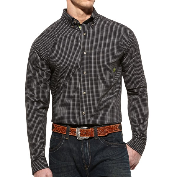 Ariat Incline High-Performance Shirt - Button Front, Long Sleeve (For Men)