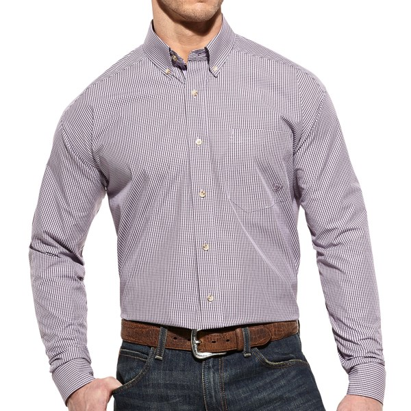 Ariat Lander High-Performance Shirt - Button Front, Long Sleeve (For Men)
