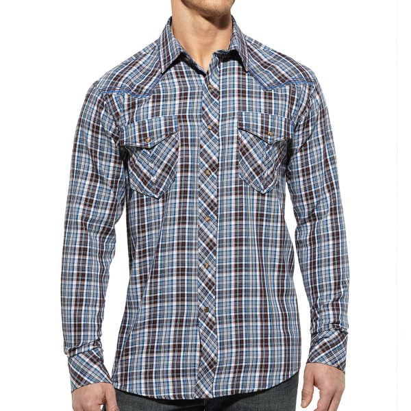 Ariat Gentry Shirt - Snap Front, Long Sleeve (For Men)