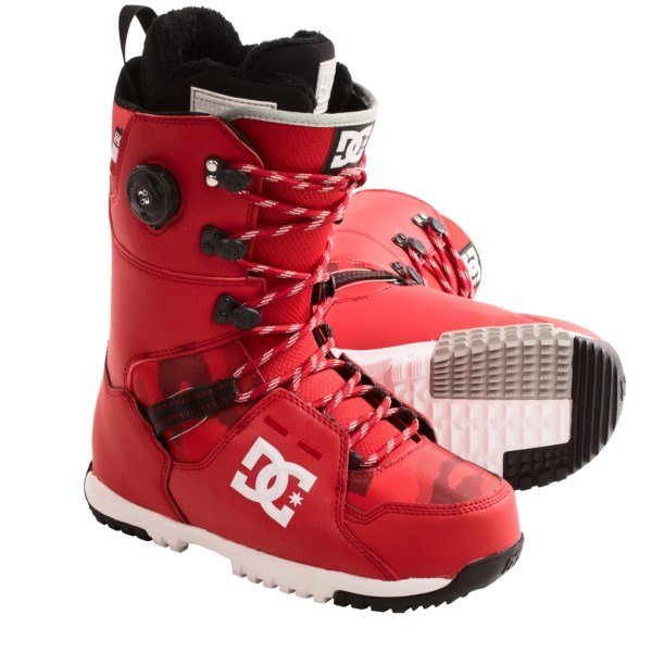 Dc Shoes Kush Snowboard Boots - Boa(r), White Liner (for Men)