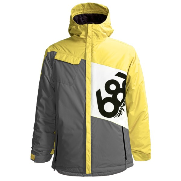 686 Mannual Iconic Jacket Waterproof, Insulated (For Boys)
