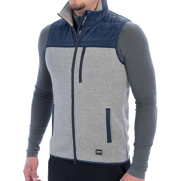 super.natural Combustion Cloud Max Gilet Vest - Merino Wool Blend (For Men)