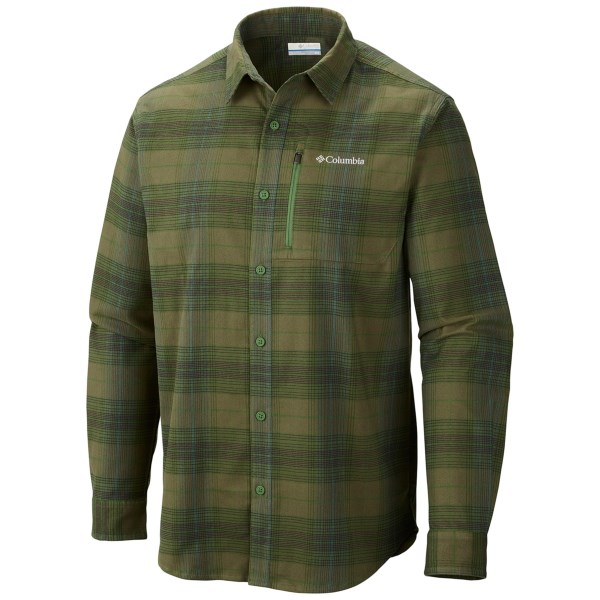 Columbia Sportswear Royce Peak Flannel Shirt - Long Sleeve (For Men)