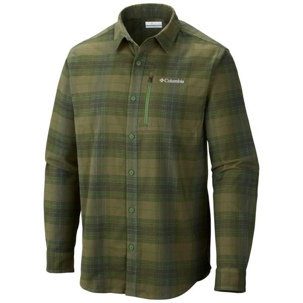 Columbia Sportswear Royce Peak Flannel Shirt - Long Sleeve (For Men)