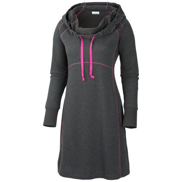 Columbia Sportswear Heather Hills Hooded Dress - Long Sleeve (for Women)