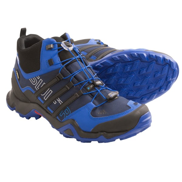 Adidas Outdoor Terrex Swift R Gore-tex(r) Xcr(r) Mid Hiking Boots  - Waterproof (for Men)