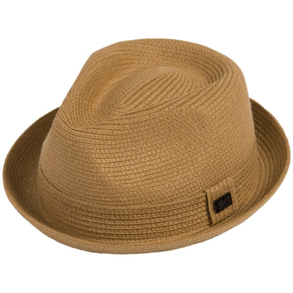 Bailey of Hollywood Billy Fedora Hat - Braided Paper Blend (For Men)