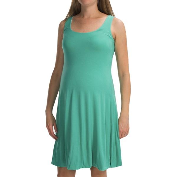 Belly Basics Reversible Maternity Bubble Dress - Sleeveless (For Women)