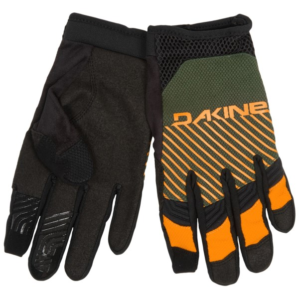 CLOSEOUTS . Lightweight and low profile, DaKineand#39;s Covert gloves pack a performance punch thanks to flexible neoprene knuckles, the sure grip of Clarinoand#174; synthetic suede palms, and touch-screen compatible fingers. Available Colors: BLACK, IMPERIAL, OLIVE, THREEDEE. Sizes: S, M, L, XL, XS.