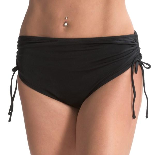24th and Ocean Borderline Side Tie Bikini Bottoms (For Women)