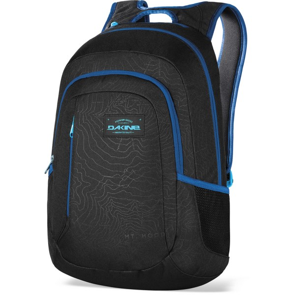 CLOSEOUTS . A real over-achiever on campus, DaKineand#39;s Factor 20L backpack hauls your books, laptop and small essentials in a spacious and well-organized design. Available Colors: GLACIER, MANTLE, PORTWAY, SEAPINE.