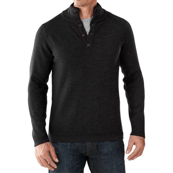 SmartWool Pioneer Ridge Half-Button Sweater - Merino Wool (For Men)