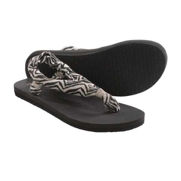 Sanuk Yoga Slingshot Prints Sandals (for Women)