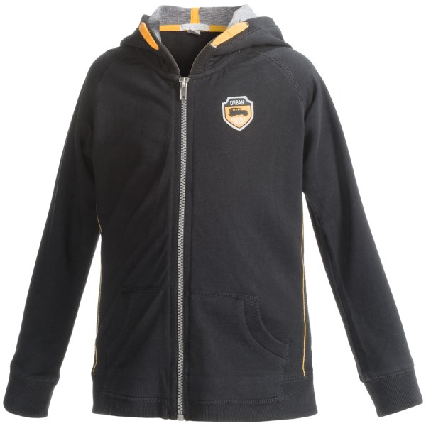 Petit Lem Zip Hoodie - Zip Front (for Little Boys)