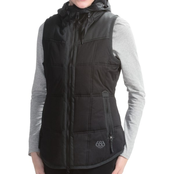 686 Authentic Hillside Snowboard Vest Insulated (For Women)