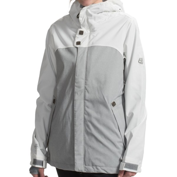 686 Authentic Smarty(R) Path Snowboard Jacket Waterproof, 3 in 1 (For Women)