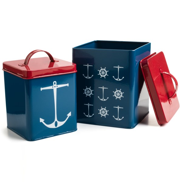 Now Designs Storage Tins - Set Of 2