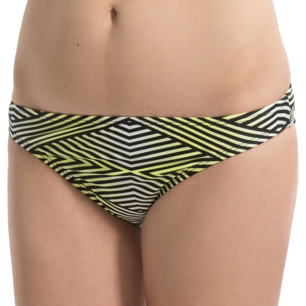 CLOSEOUTS . So bright and eye catching! So comfortable, so stylish! Adidasand#39; So Diamond hipster bikini bottoms are all of the above, plus infused with Lycraand#174; for lasting shape retention and flexibility. Available Colors: CITRON. Sizes: XS, S, M, L, XL.