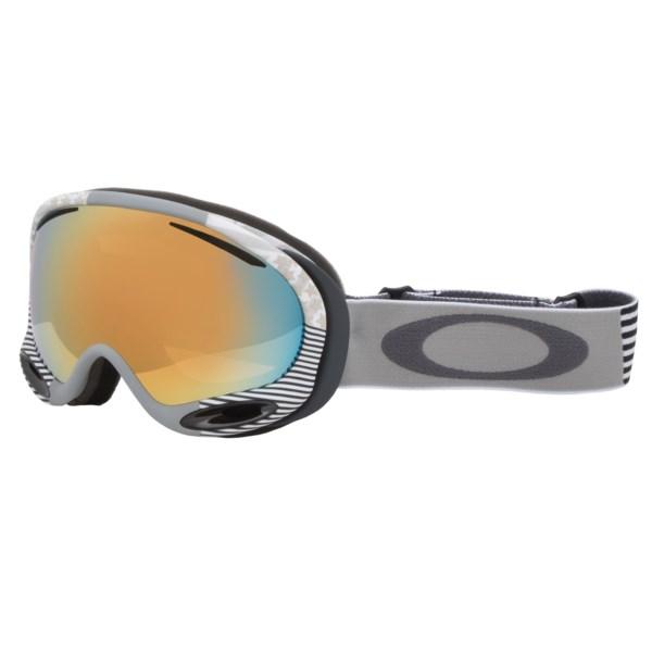 Oakley A Frame 2.0 Signature Series Snowsport Goggles Iridium(R) Lens