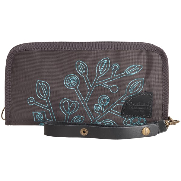 Overland Equipment Amelia Embroidered Wallet (for Women)