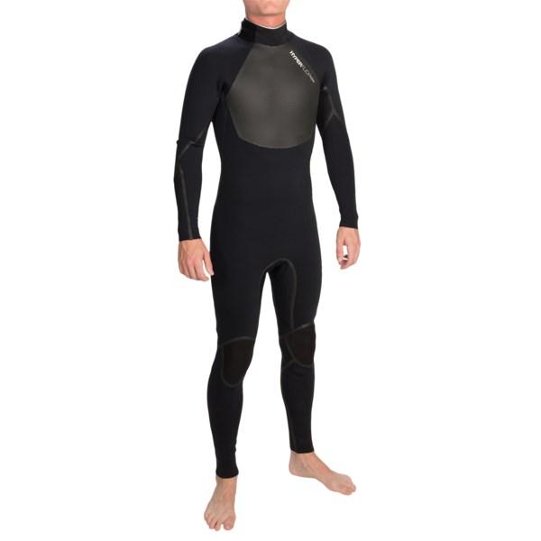 Hyperflex Amp 3 Back Zip Full Wetsuit- 3/2mm (for Men)