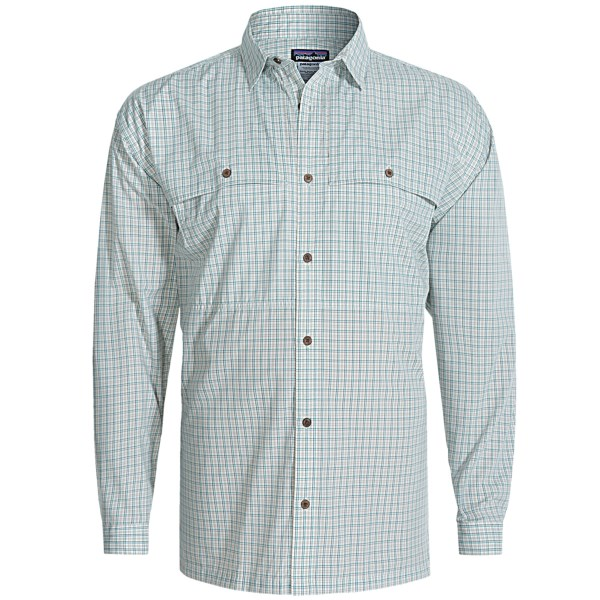 Patagonia Island Hopper Shirt - Upf 15, Long Sleeve (for Men)
