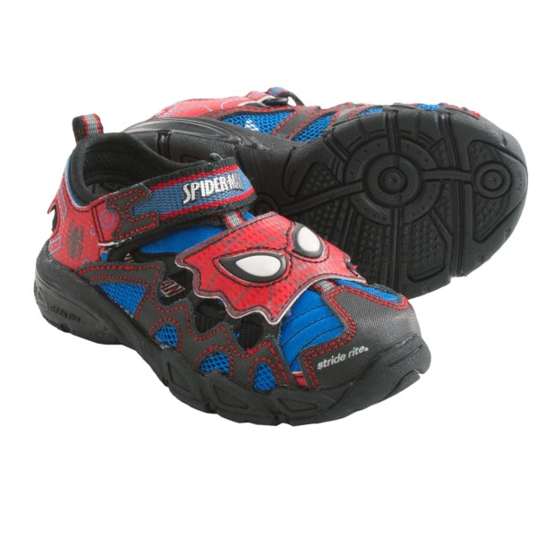 Stride Rite Spider-man Sandals - Leather And Mesh (for Infant Boys)