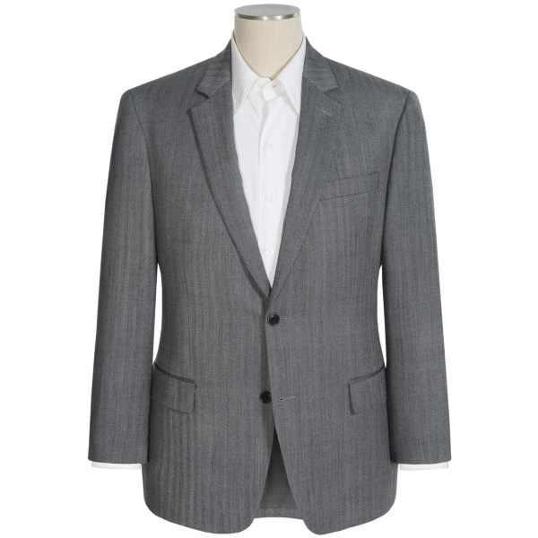 CLOSEOUTS . The subtly different fabric pattern of the Michael Kors Herringbone sport coat offers an engaging depth that stands out in a sea of solids. The high-quality wool has a gentle hand and a very attractive drape; all in all, this sport coat represents a very attractive value. Available Colors: GREY HERRINGBONE.