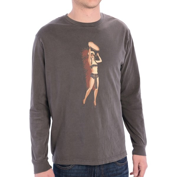 True Grit Indian Princess T-shirt - Long Sleeve (for Men)