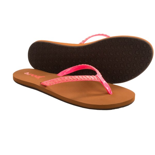 Reef Twisted Stars Brights Flip-flops (for Women)