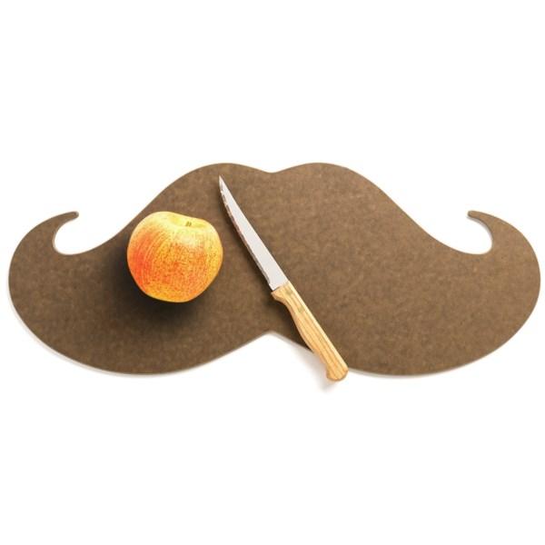 Epicurean Mustache Cutting Board - 20x8?