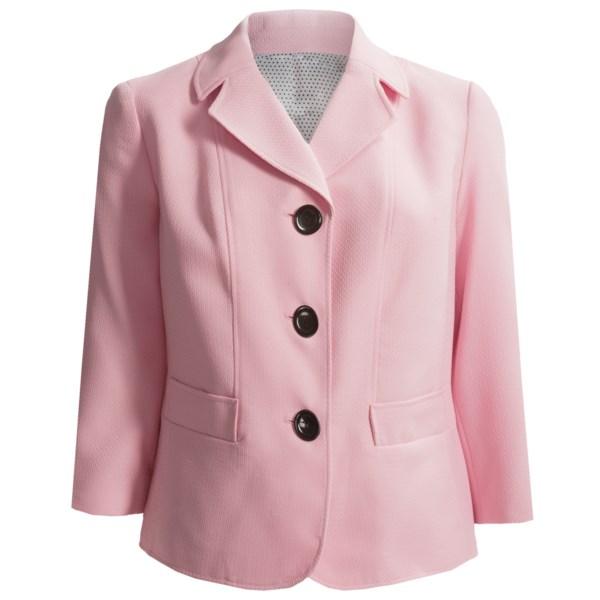Textured Blazer (For Plus Size Women)