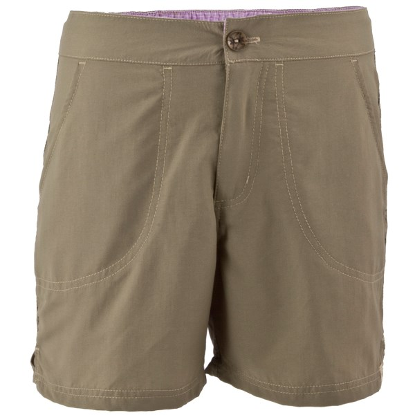 White Sierra Sand And Sun Shorts - Upf 30 (for Little And Big Girls)