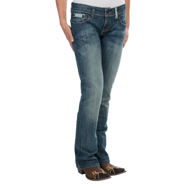 Cruel Girl Blake Criss-cross Jeans - Low Rise, Bootcut (for Women)