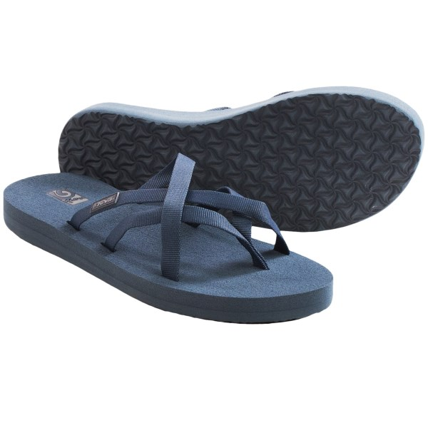 1895340a297c63 Teva Olowahu Thong Sandals - Mush(R) Footbed (For Women) at MoveItGear -  MoveItGear